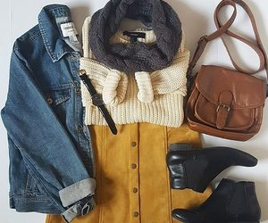 outfit, autumn, and clothes image