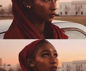goddess, poppin, and melanin image