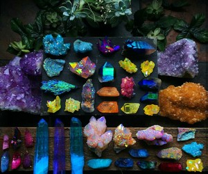 crystal, colors, and rainbow image
