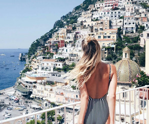 girl, summer, and vacation image
