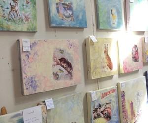 art, pastel, and theme image