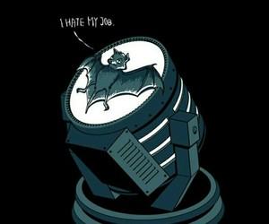 batman, bat, and job image