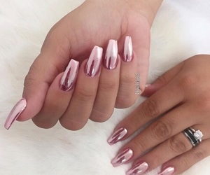 girly, nail designs, and goals image