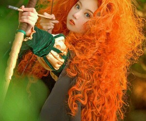 cosplay, brave, and disney image