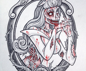 disney, zombie, and princess image