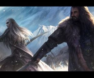 thorin and thranduil image