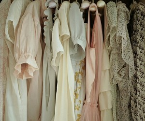 clothes, dress, and pastel image