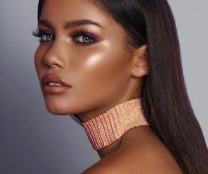 art, blush, and eyeshadow image
