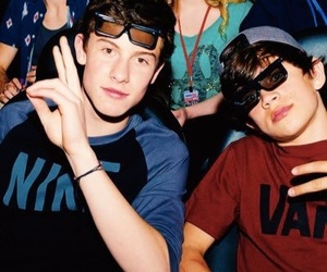 shawn mendes, hayes grier, and hayes image