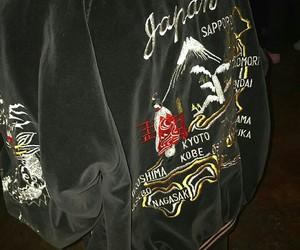 jacket, fashion, and black image