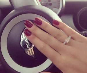 girl, nails, and accessories image