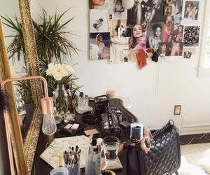 interior, makeup, and room image