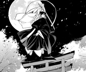 black&white, noragami, and god of war image