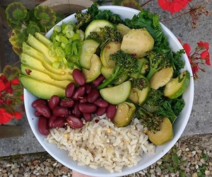 amazing, bowl, and healthy image