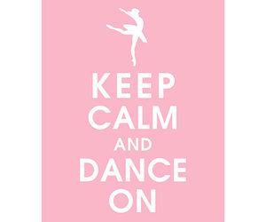 keep calm, dance, and pink image