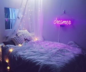 bedroom, room, and dreamer image