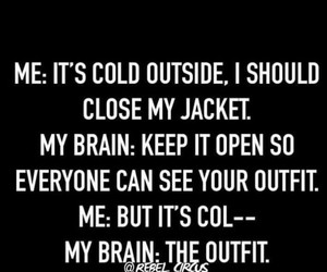 cold, fashion, and funny image