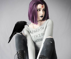 teen titans, cosplay, and raven image