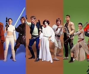 Anakin Skywalker, finn, and han solo image