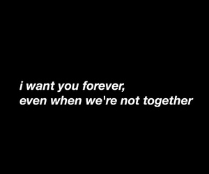 quotes, forever, and together image