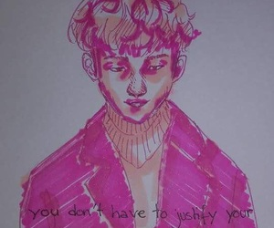 boy, dessin, and quotes image