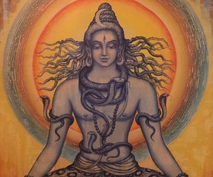 shiva, breathing, and lord shiva image