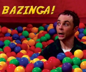 bazinga, sheldon, and sheldon cooper image