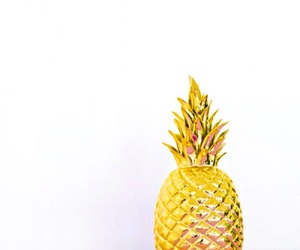 pineapple, gold, and pink image