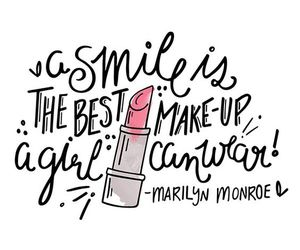 smile, quotes, and Marilyn Monroe image