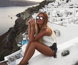 fashion, style, and Greece image