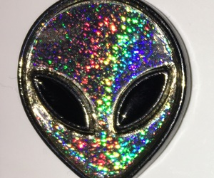 alien, black, and colorful image