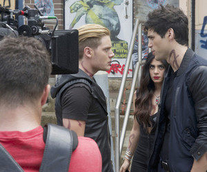 behind the scenes, the mortal instruments, and alec lightwood image