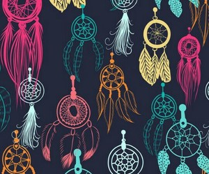 wallpaper, background, and dreamcatcher image