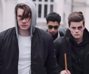 skam, william, and chris image