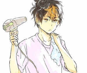 haikyuu, anime, and nishinoya image
