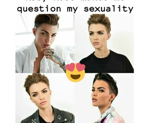 pretty and ruby rose image