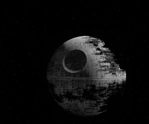 dark side, death star, and sith image