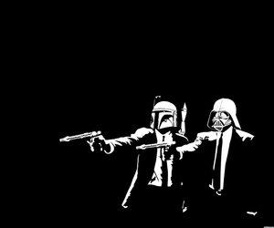 star wars, darth vader, and pulp fiction image