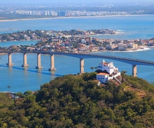 brazil, city, and ocean image