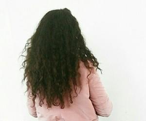 curly hair, pretty hair, and hair goals image