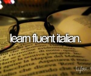 italian, learn, and language image