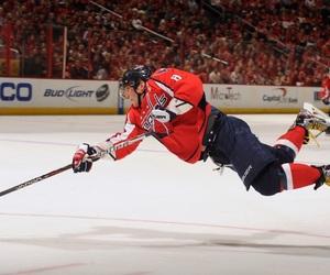 Ice Hockey, nhl, and washington capitals image