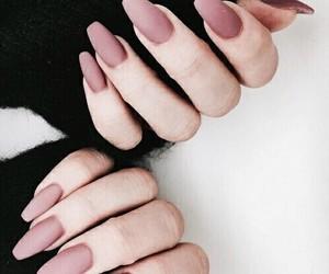 art, nails, and b & w image