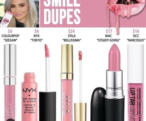 dupe and kylie cosmetics image