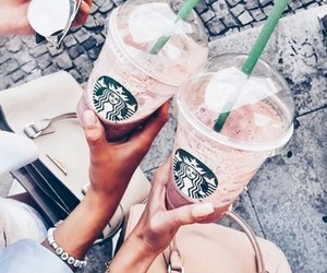 💕 and starbucks cuteee lovelyyy image