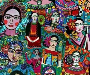 Frida, background, and kahlo image