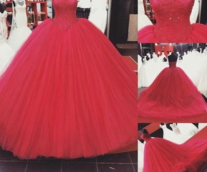 ball gown, beautiful, and princess image