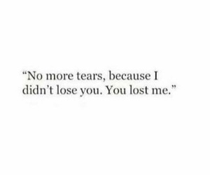 quote and tears image