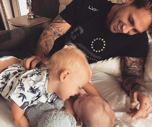 Tattoos, father love, and love+father+and+kids image
