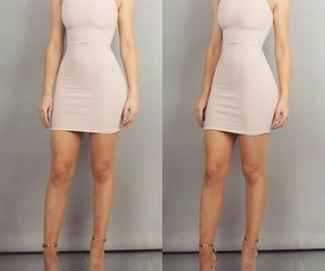 dress and bodycon image